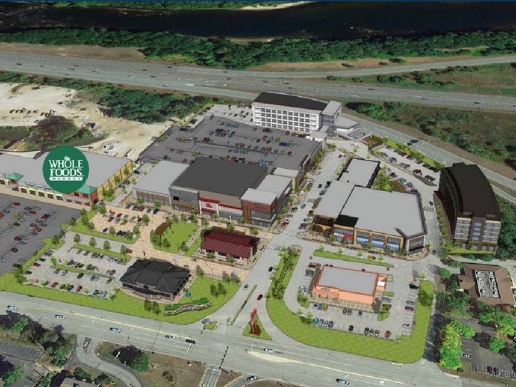 Rendering of Market and Main Aerial