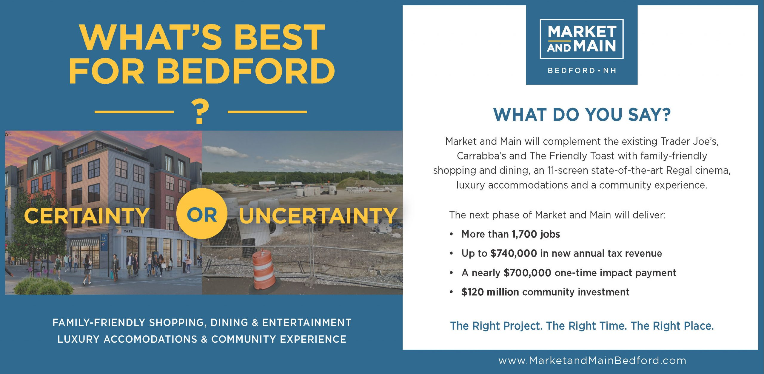 What is best for bedford